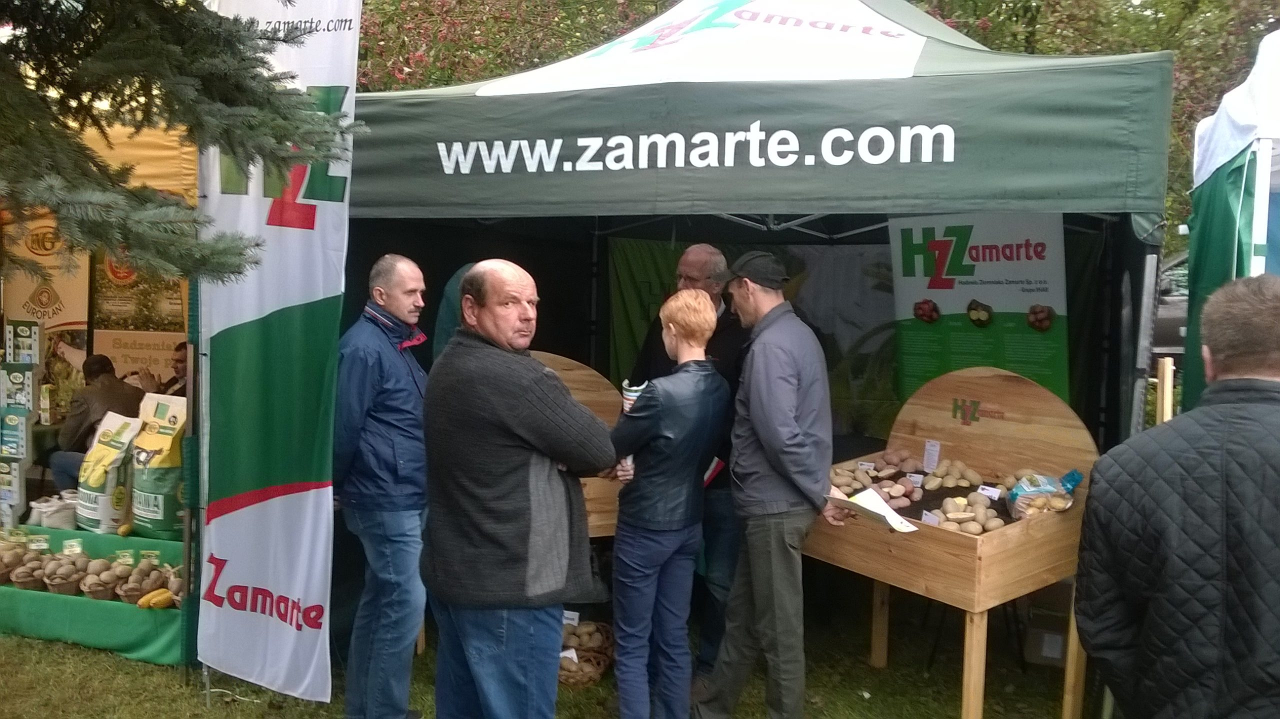 XXIII Krajowe Dni Ziemniaka stoisko HZ Zamarte