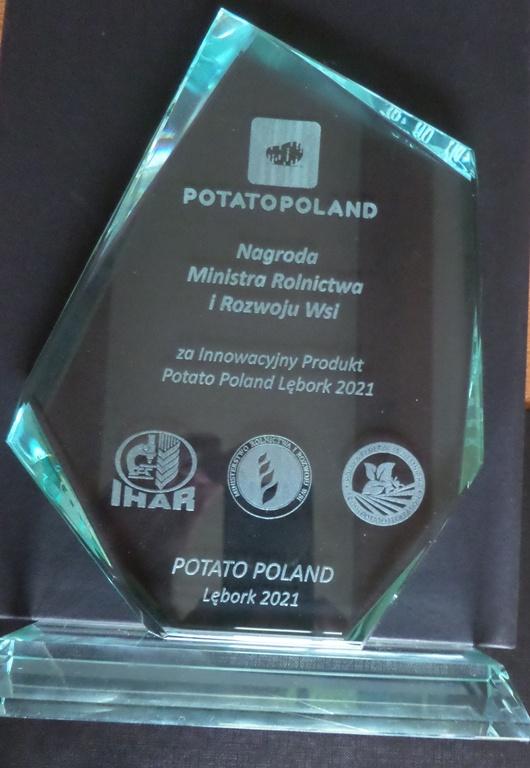Nagroda Ministra Rolnictwa i Rozwoju Wsi za innowacyjny produkt