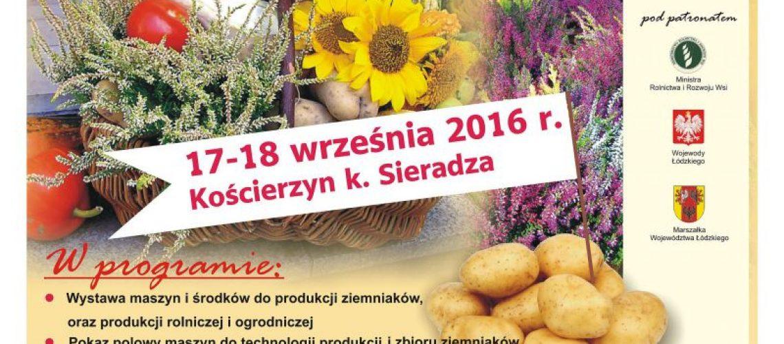Plakat XXIII Krajowe Dni Ziemniaka